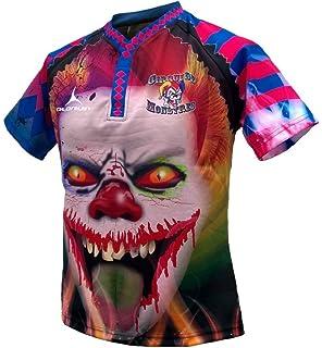 e1bc3fa77 Olorun Hells Angels Xmas Rugby Shirt - Mens (M-7XL)  Amazon.co.uk ...