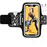 Mpow Phone Armband for Running, Phone Armband for iPhone 11 Pro 11 XR XS X 8 7 6 6S, Samsung Galaxy S9 S8 S7[Up to 6.1…