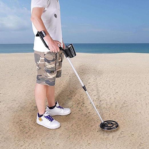 ReaseJoy Metal Detector 3005II Waterproof Underground Gold Digger Tracker Treasure Search: Amazon.es: Jardín