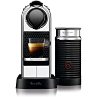 Breville Nespresso Citiz and Milk Espresso Machine, Crome, BEC660CRO