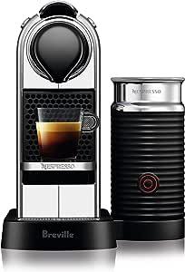 Nespresso Citiz and Milk Espresso Machine, Crome, BEC660CRO