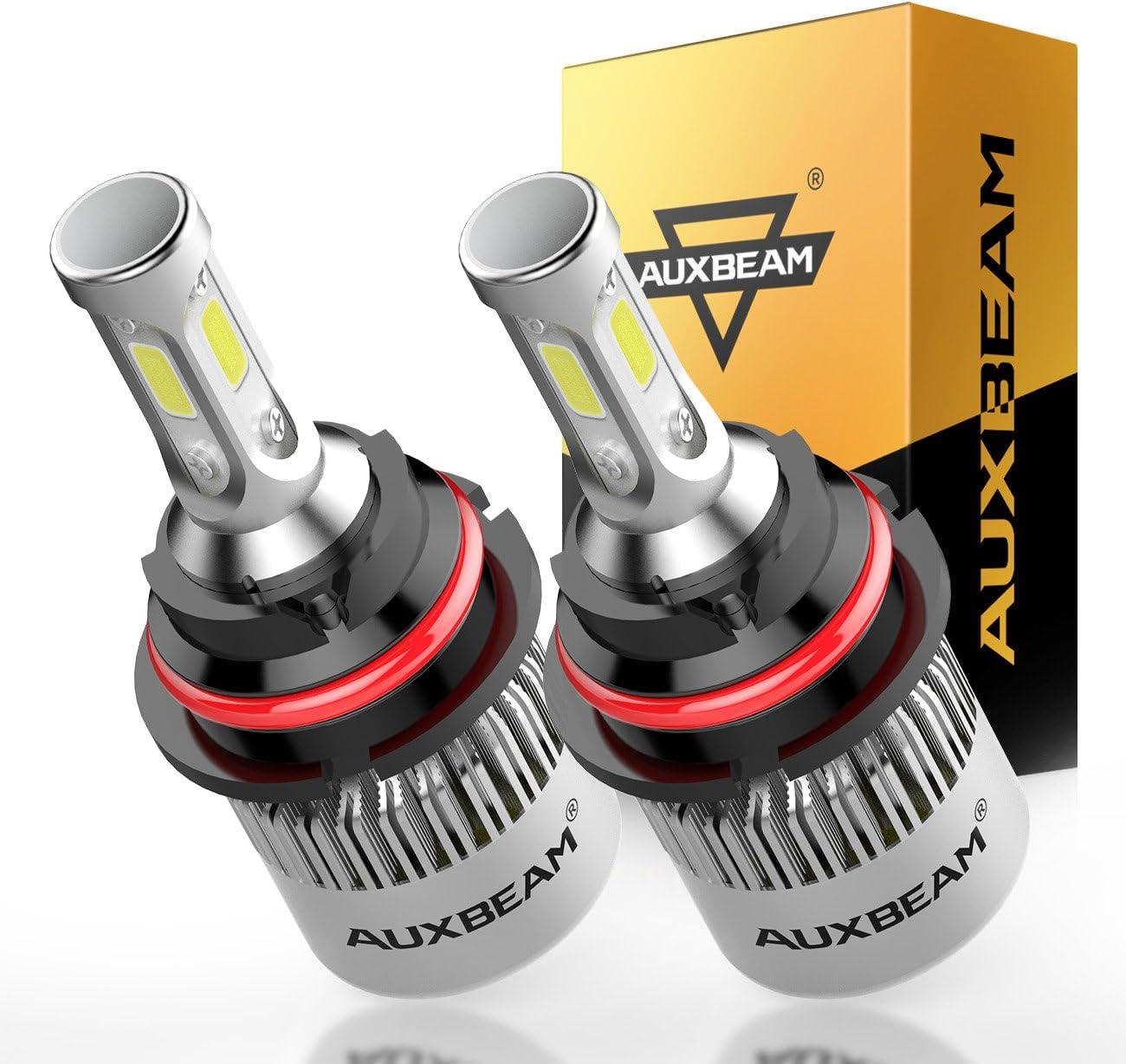 AUXBEAM LED F-S2 Series 9007 COB LED Headlight Conversion Kit