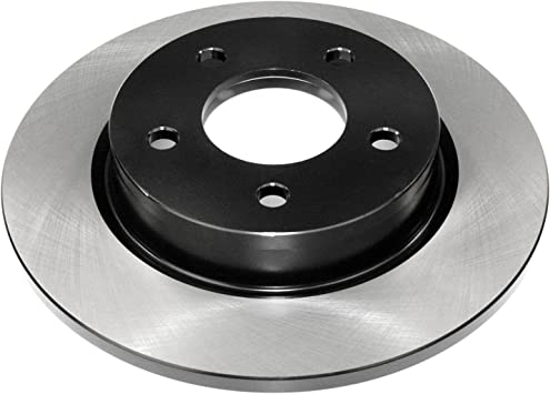 DuraGo BR3136602 Rear Solid Disc Premium Electrophoretic Brake Rotor
