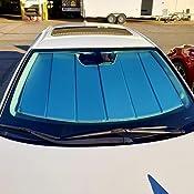 Laminate Material Green Ice Covercraft UVS100 Series Heat Shield Custom Fit Windshield Sunshade for Select Lexus CT200h Models