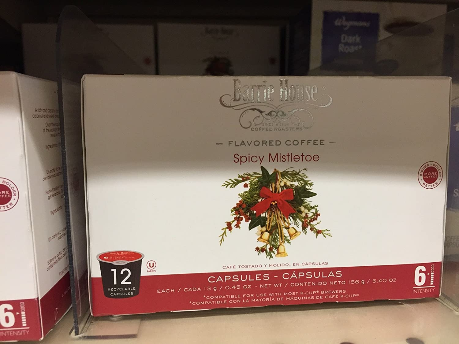 Barrie House, Spicy Mistletoe, Single Cup Capsule (12 Capsules): Amazon.com: Grocery & Gourmet Food