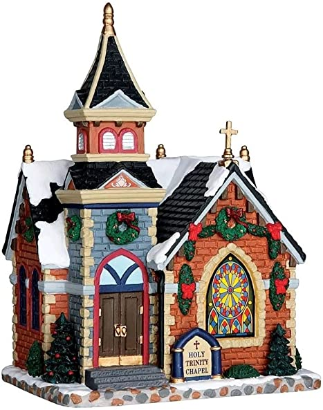 Lemax Village Collection Christmas Village Building, Holy Trinity Chapel