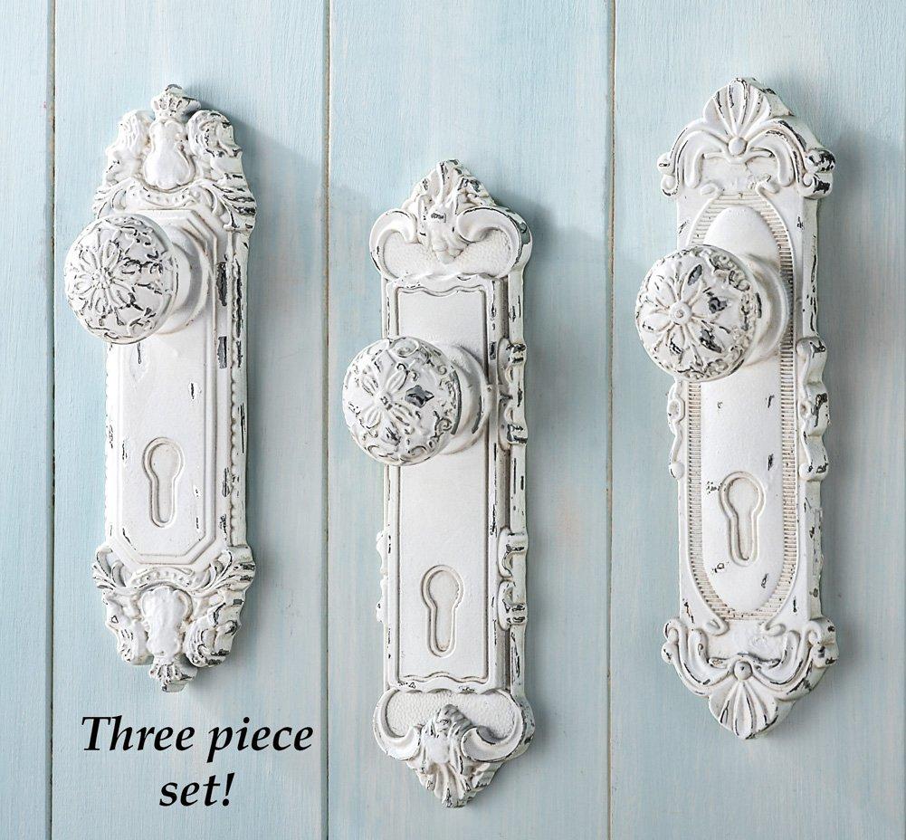 antique looking door knobs. Amazon.com: Collections Etc Antique Door Knob Wall Hooks - Set Of 3: Home \u0026 Kitchen Looking Knobs T