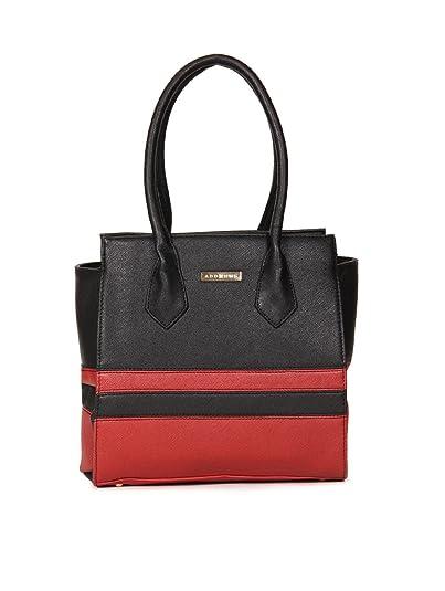Addons 2-Tonal Patchwork Tote Bag