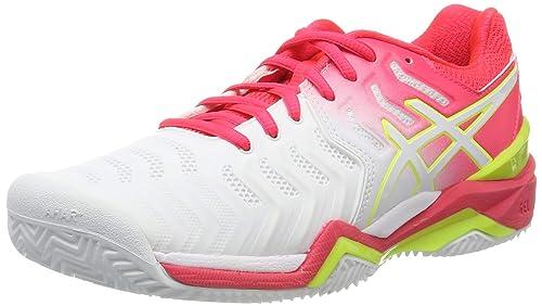 ASICS Gel Resolution 7 Clay, Zapatillas de Tenis para Mujer