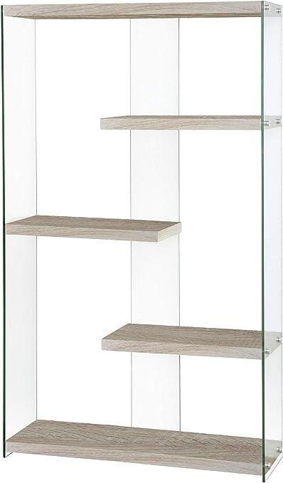 Amazon.it: mensola vetro Librerie Soggiorno: Casa e cucina