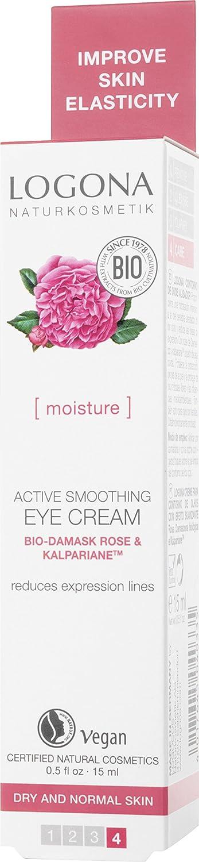 Logona Active Smoothing Eye Cream, 0.5 Ounce