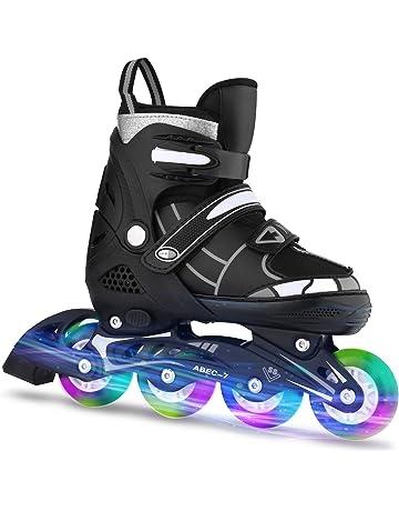 Hikole Inline Skates for Adult Women Youth - Adjustable Size 5-10.5 Roller  Skates - 677320eb32