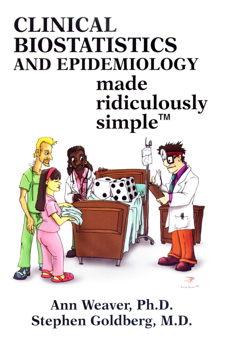 Buy Clinical Biostatistics and Epidemiology Made Ridiculously Simple ...