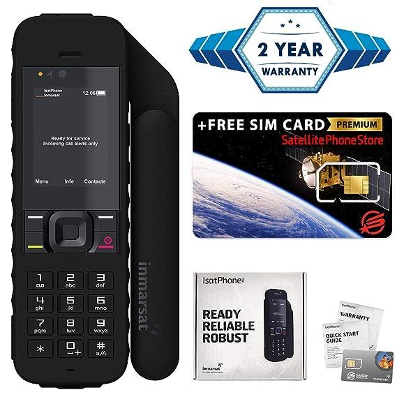How To Gps A Phone >> Amazon Com 2019 Unlocked Isatphone 2 1 Satellite Phone Voice Sms