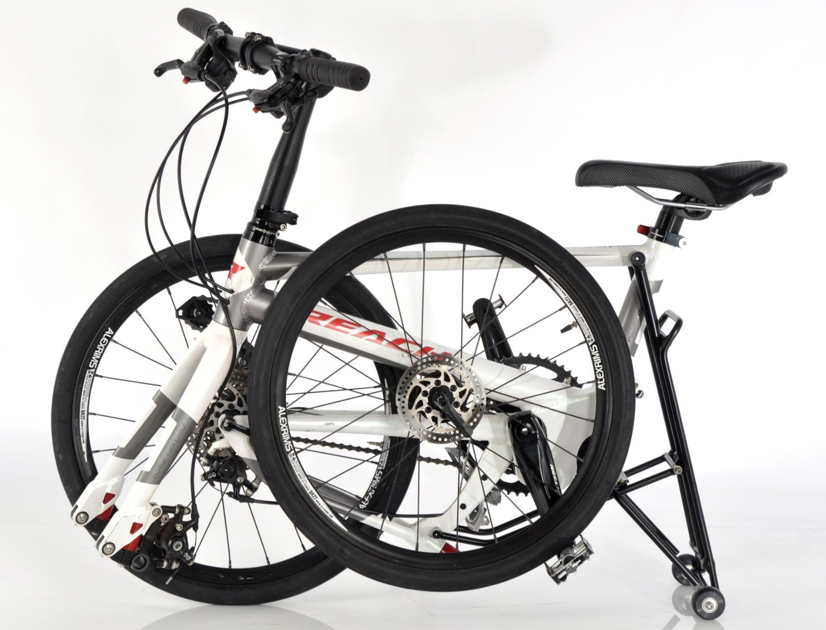Rear Rack with wheels for Pacific Cycles IF REACH T20 R20 Mini Velo Folding Bikes by IF REACH (Image #4)
