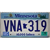 USA Nummernschild MINNESOTA ~ US Kennzeichen License Plate ~ Blechschild