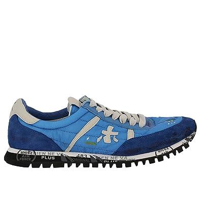 PREMIATA Herren Sean3135 Blau Stoff Sneakers  Amazon.de  Schuhe ... 2f91bc6573