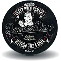 Heavy Hold Pomade By Dapper Dan, Superior Hold, Petrolatum Free, No Build Up, Liquorice & Vanilla Fragrance 100ml
