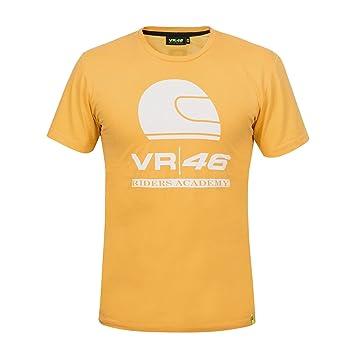 Valentino Rossi VR46 Moto GP Riders Academy Orange Camiseta Oficial 2018: Amazon.es: Deportes y aire libre