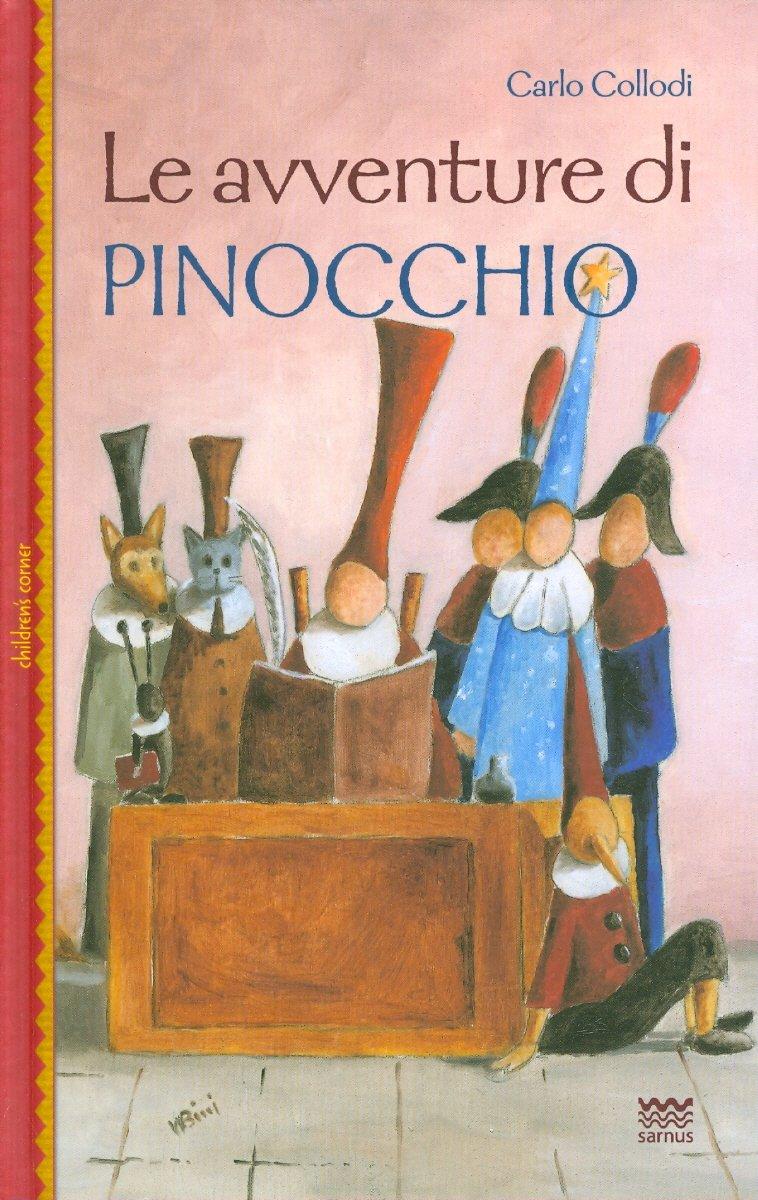 Read Online Le avventure di Pinocchio: Illustrate con le grafiche dell'edizione originale dal Giornale per i Bambini 1881-1883 (Children's Corner) (Italian Edition) pdf epub