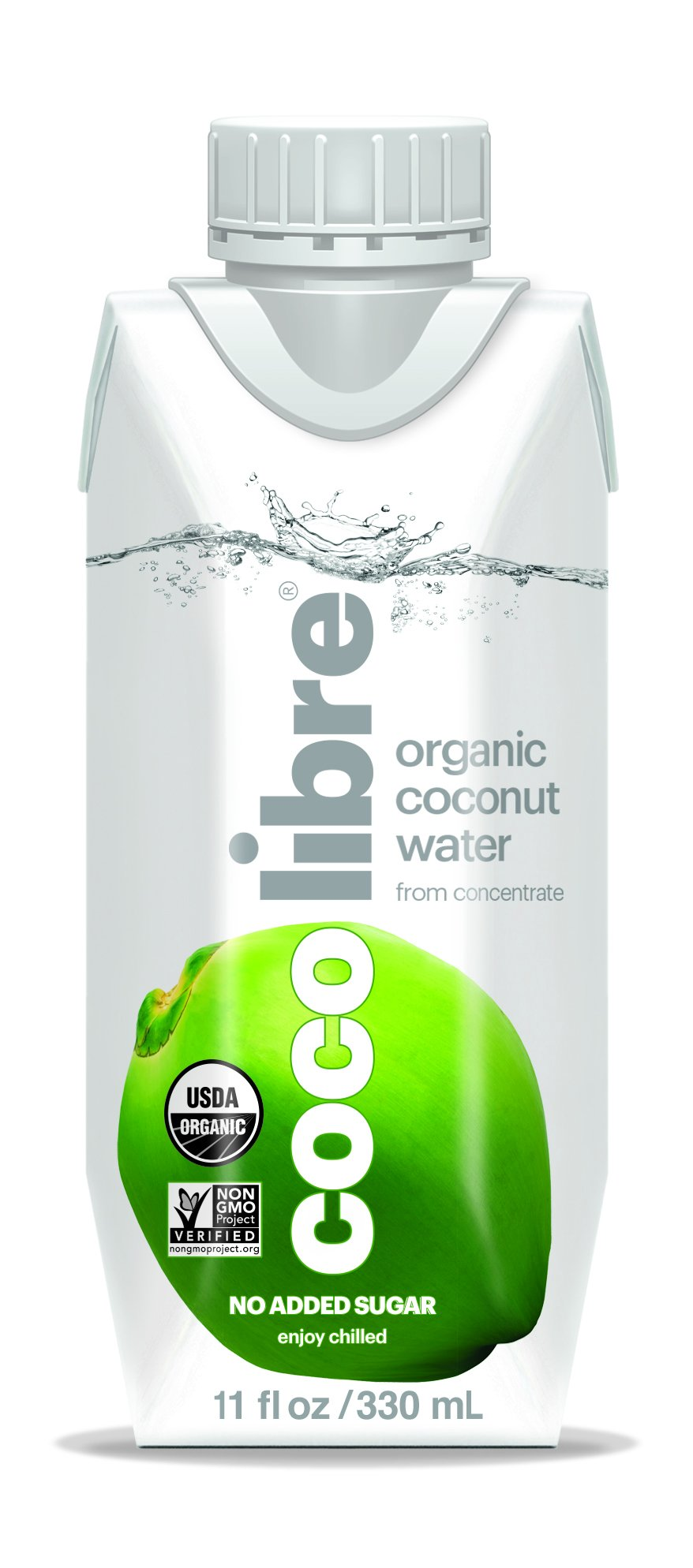CoCo Libre Organic Coconut Water, 11 Ounce (Pack of 12)