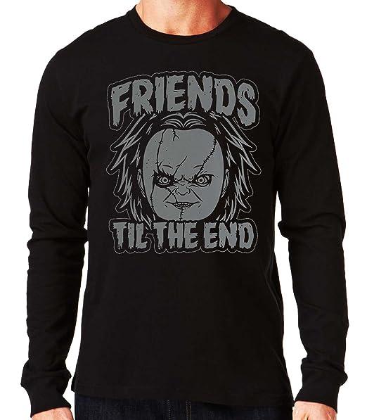 35mm - Camiseta Manga Larga Chucky Friends Til The End, Hombre: Amazon.es: Ropa y accesorios