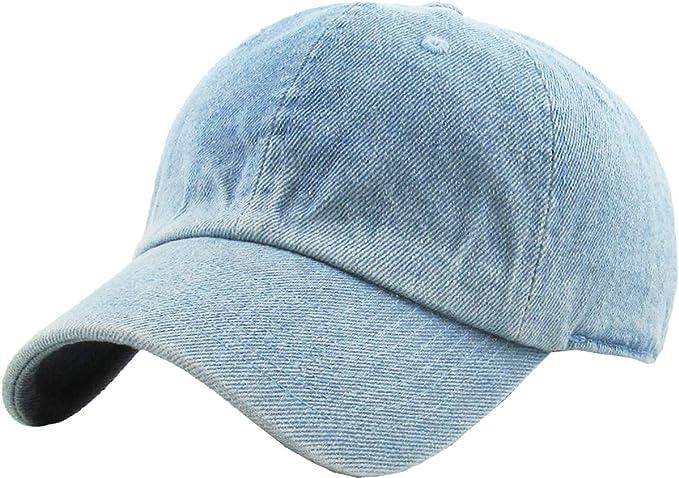 Roo Happy Classic Adjustable Cotton Baseball Caps Trucker Driver Hat Outdoor Cap Gray