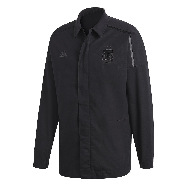 2018-2019 Argentina Adidas ZNE Woven Anthem Jacket (Black) B077R3H3ZTBlack Medium 38-40\