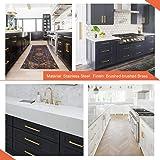 homdiy Kitchen Cabinet Handles Gold Drawer Pulls 12