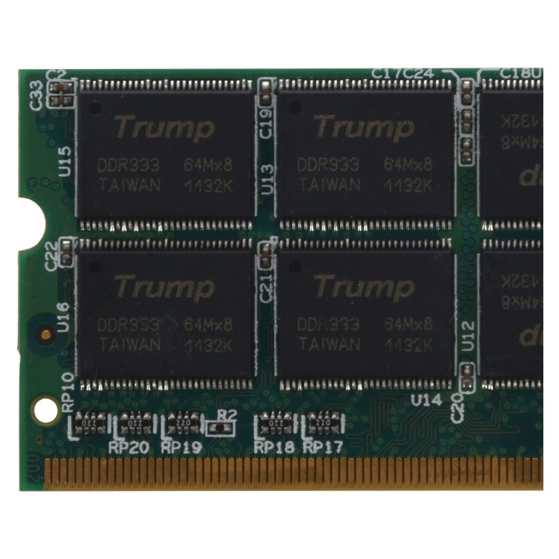 R SODIAL 1GB 1G DDR Memoire RAM memoire dordinateur portable 333MHZ PC2700 NON-ECC PC DIMM 200 broches