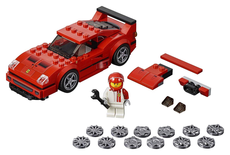 198 Pieces LEGO Speed Champions Ferrari F40 Competizione 75890 Building Kit