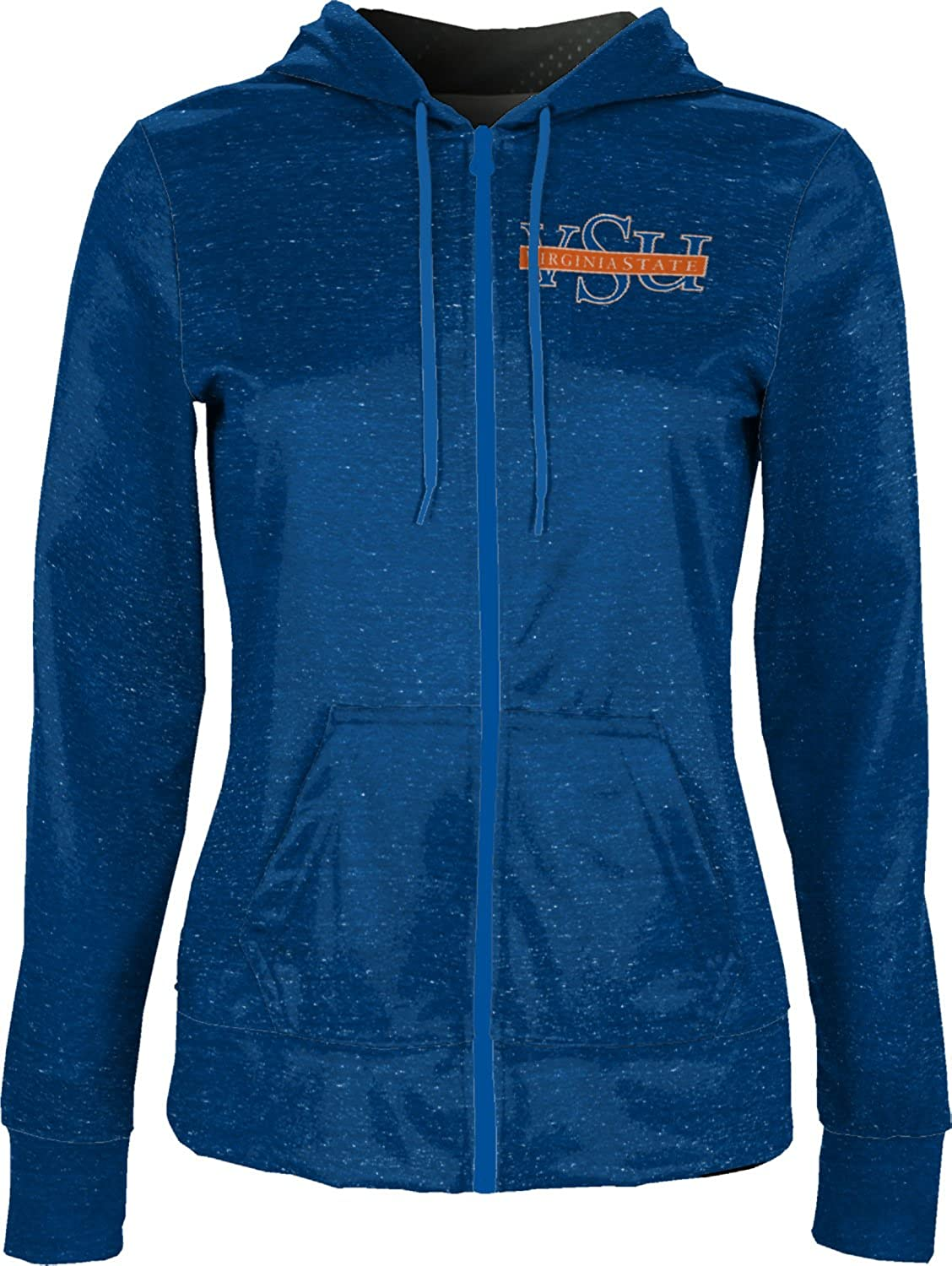 School Spirit Sweatshirt Heather ProSphere Virginia State University Girls Zipper Hoodie