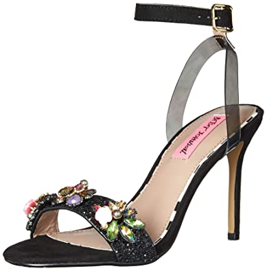 0acd613fc41 Betsey Johnson Women s Alyna Heeled Sandal