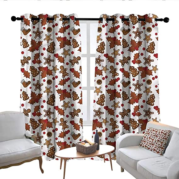 Amazon Com Lewis Coleridge Kitchen Curtains Christmas Holly Berry