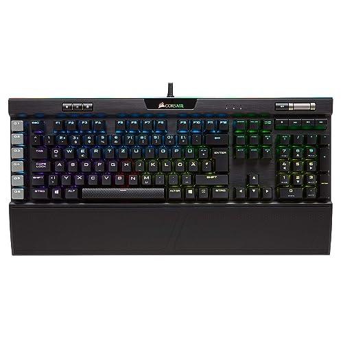 Corsair K95 RGB Platinum Mechanische Gaming Tastatur (Cherry MX Speed, Multi-Color RGB Beleuchtung, QWERTZ) schwarz