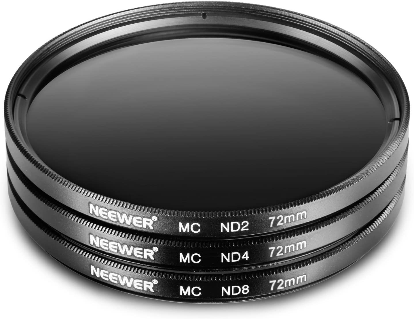 for Olympus PEN E-PL2 E-PL3 E-PL5 E-PL6,OM-D E-M10 Compact Cameras w//14-42mm f//3.5-5.6 II Zoom Lens ND2 ND4 ND8 Neewer 37MM ND Filter Set
