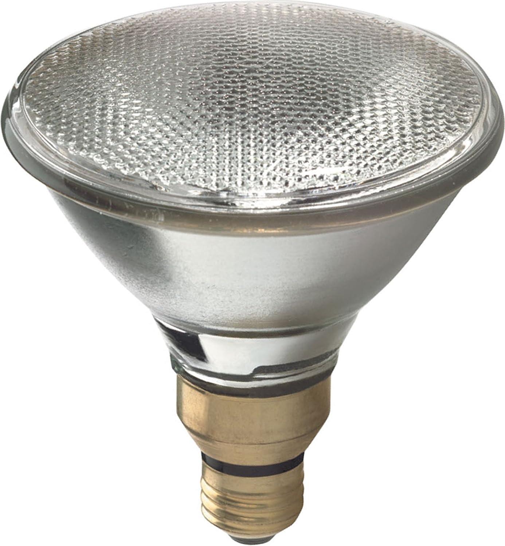 GE Lighting 62706 Energy-Efficient Halogen 80-Watt (120-watt replacement) 1600-Lumen PAR38 Floodlight Bulb with Medium Base, 1-Pack