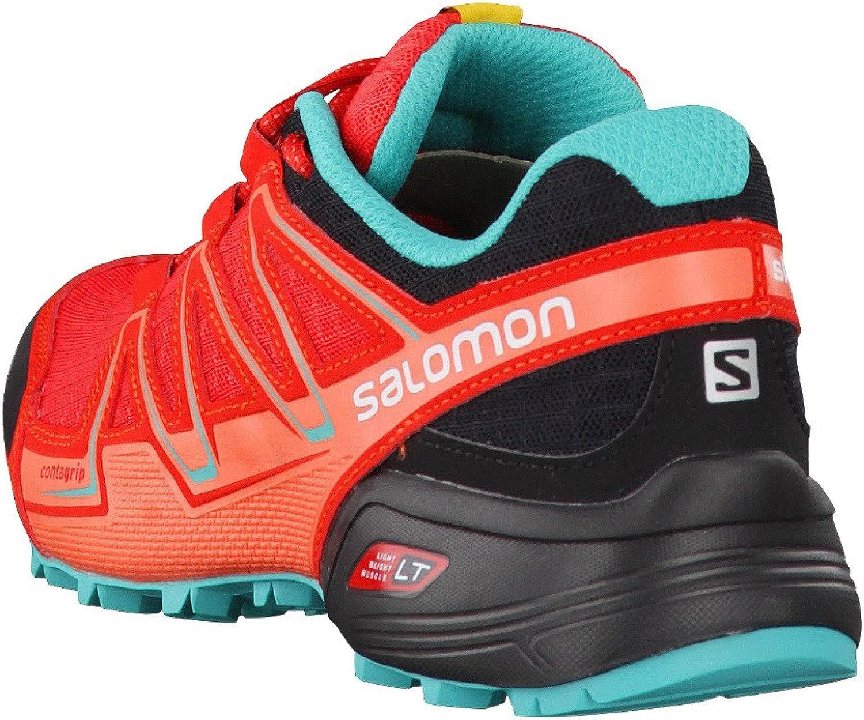 Einheitsgr/ö/ße rot SALOMON Damen Speedcross Vario W Traillaufschuhe