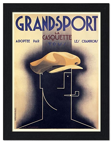 Grand Sport, artista: un M Cassandre, cartel del Art déco ...