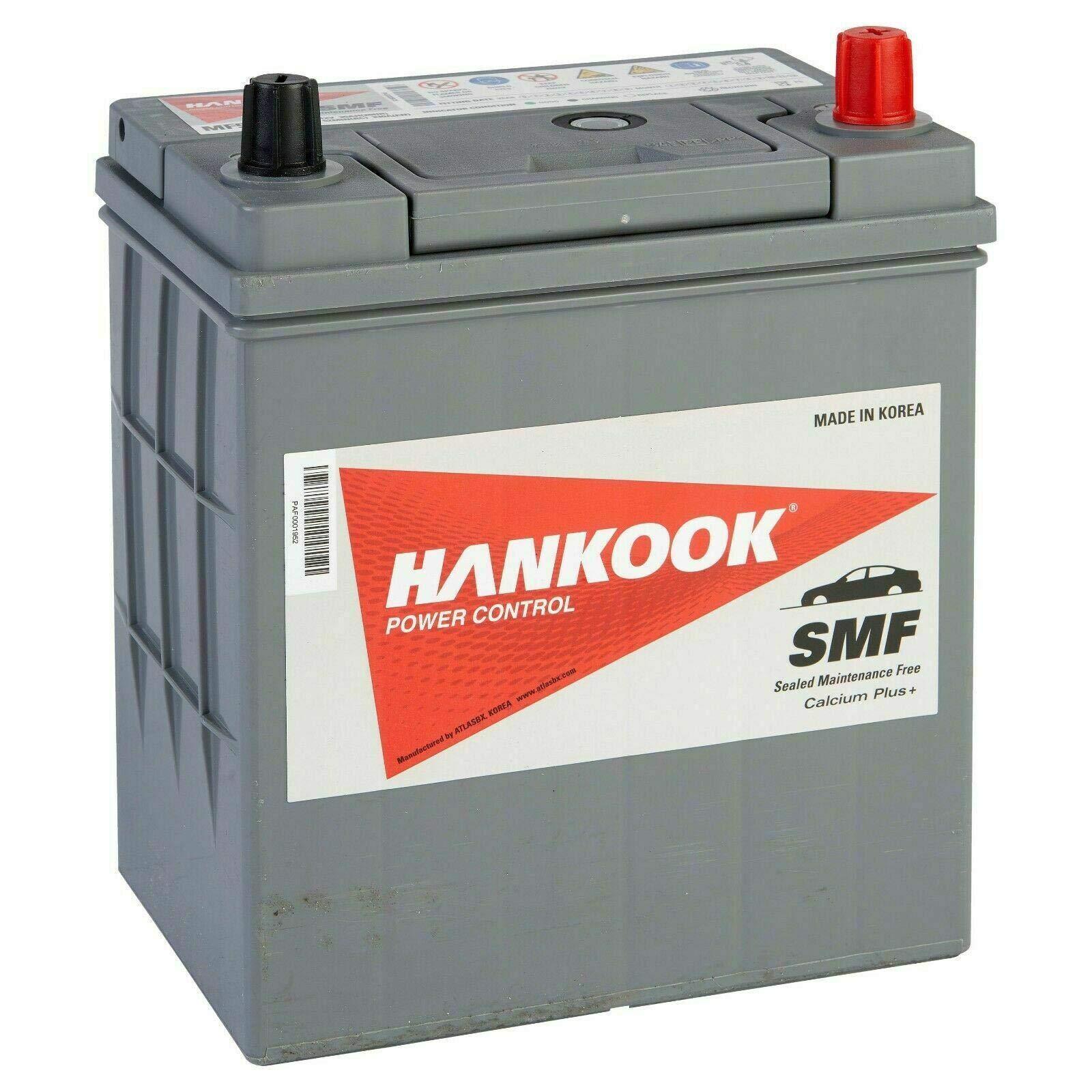 4 Year Warranty 187 x 127 x 220mm Hankook 054 Sealed Car Battery 12V 35Ah