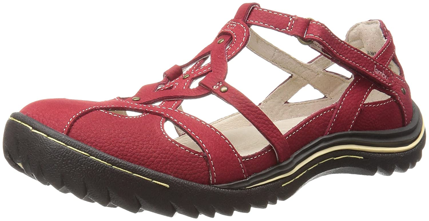 Jambu Women's Spain Flat B01IDT7EVC 11 B(M) US|Red