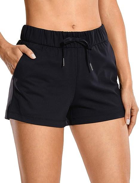 Amazon.com: CRZ YOGA - Pantalones cortos deportivos para ...