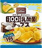 カルビー NATURALCalbee乳酸菌チップス シーソルト味 38g×12袋