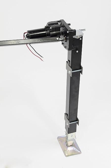 Lippert 333964 RV Universal Mount Power Landing Gear Kit