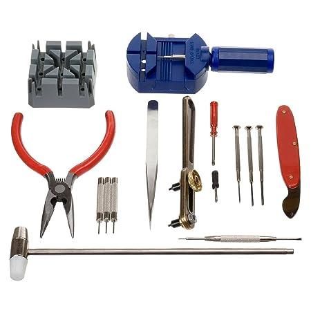 Horizon 16 Pcs Watch Repair Tool Kit Set Wrist Strap Adjust