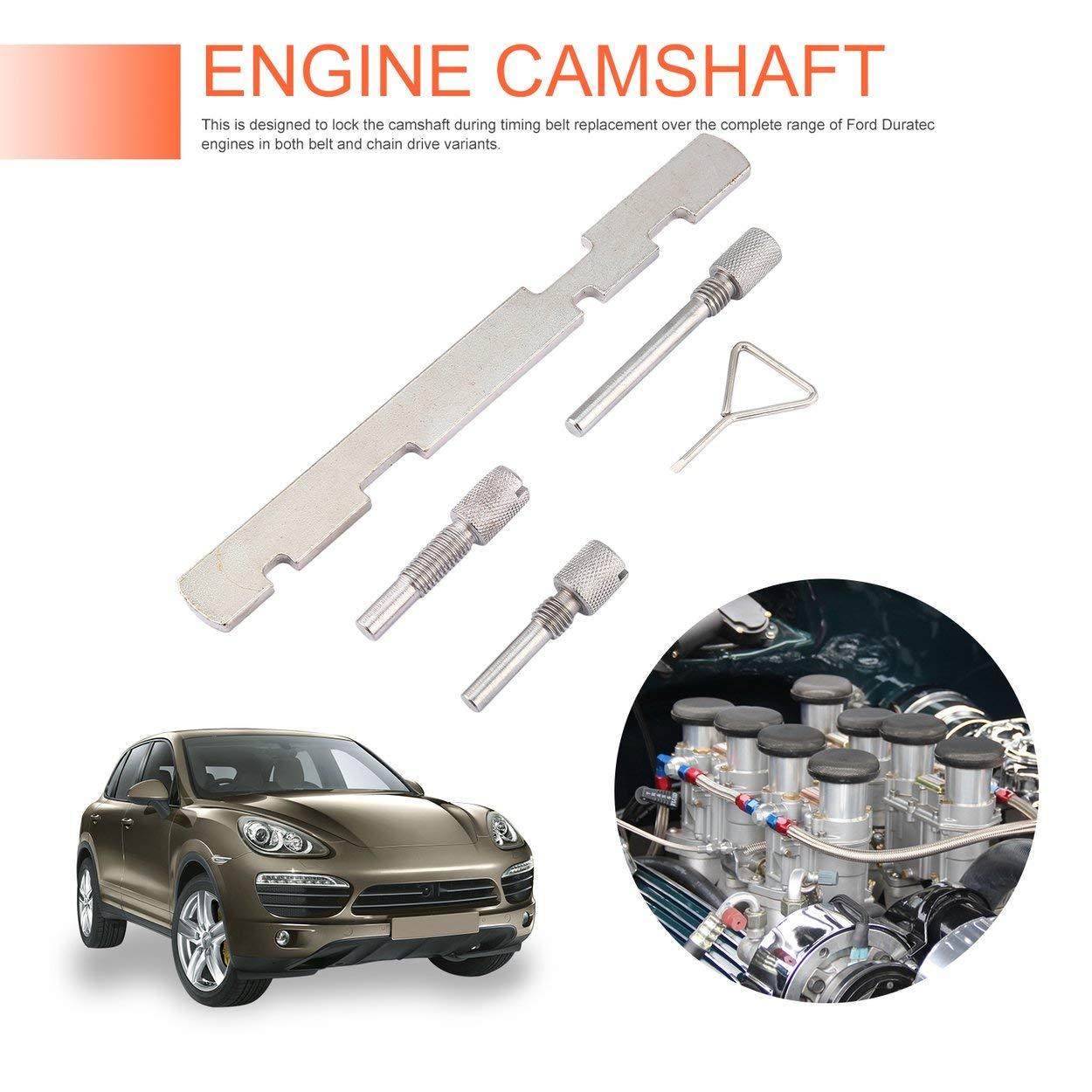 Losenlli 5 Unids Kit de sincronización del árbol de levas del Motor Bloqueo Configuración de alineación Kit de Herramientas de reparación para Ford Puma ...