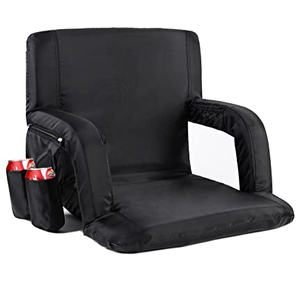 Surprising Sportneer Portable Stadium Seat Chair Reclining Seat For Caraccident5 Cool Chair Designs And Ideas Caraccident5Info