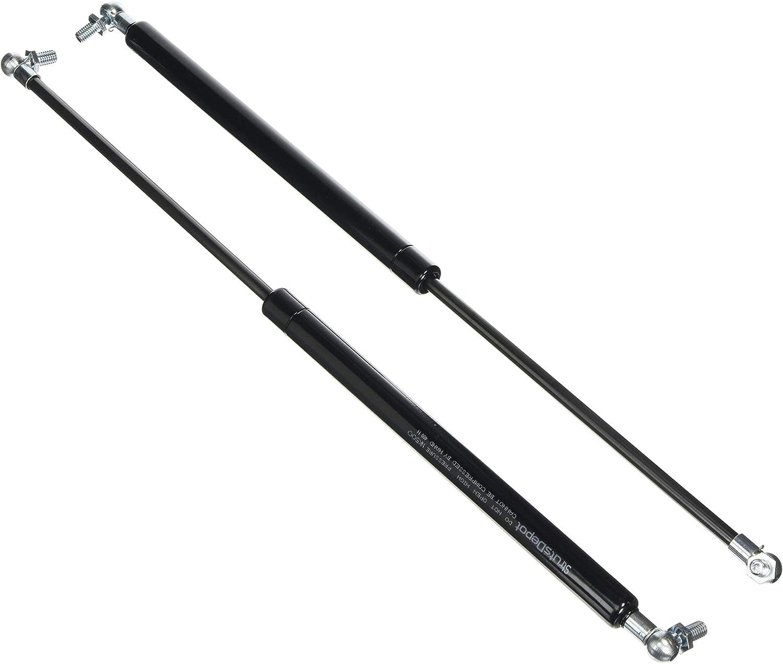 StrutsDepot Replacement 400N Gas Struts w//M8 Ball Stud Bolts Pair 350mm