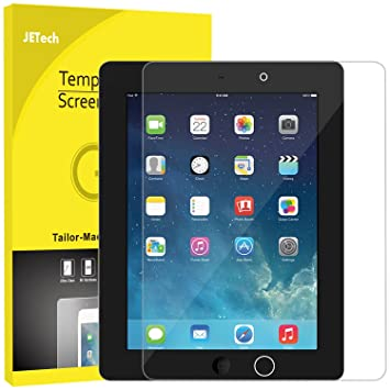 JETech Screen Protector for Apple iPad 2 3 4 (Oldest Models), Tempered Glass