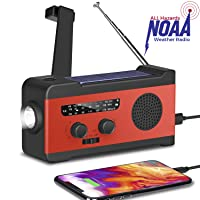 Deals on Fansrock Emergency Solar Hand Crank Radio